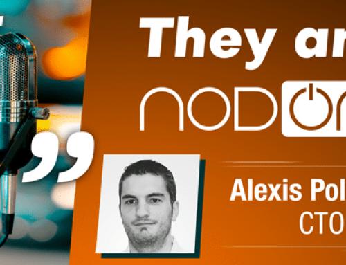 4 questions to… Alexis Polegato, CTO of NodOn