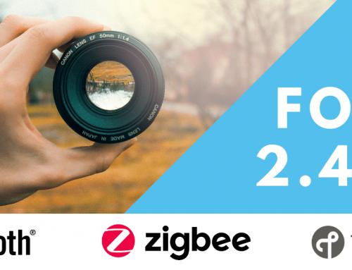 Focus 2.4GHz – Choose between Bluetooth, Thread and Zigbee